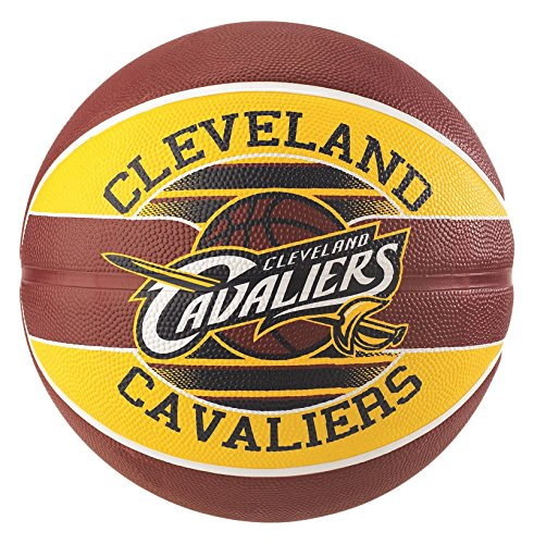 Spalding NBA Team Cleveland Cavs Ball Basketball, Mehrfarbig, 7