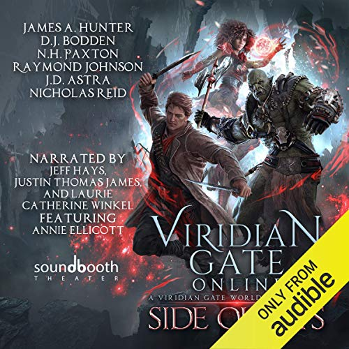 Couverture de Viridian Gate Online: Side Quests: A litRPG Anthology