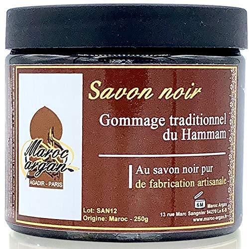 Gommage au Savon noir traditionnel 100% naturel...