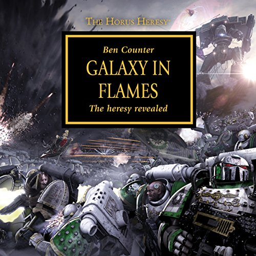 Galaxy in Flames audiobook cover art