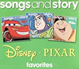 Disney Pixar Favorites Songs and Story 3 CD Set Includes: Cars, Toy Story 2, and Up