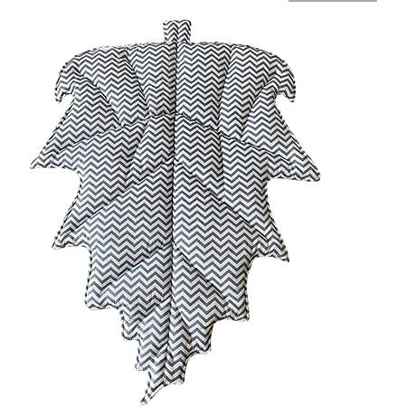 Tapis de Sol en Forme de Feuille Tapis Photographier Tapis de Jeu pour Bébé Chambre Décoration Tapis Doux Lavables Antidérapant - Rayure