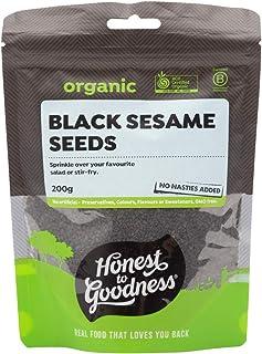 Honest to Goodness Organic Black Sesame Seeds, 200g