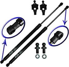 Two Front Hood Gas Charged Lift Supports With 2 Upgraded Studs and Brackets For 1997-2001 Lexus ES300. Left and Right Side. WGS-272-2