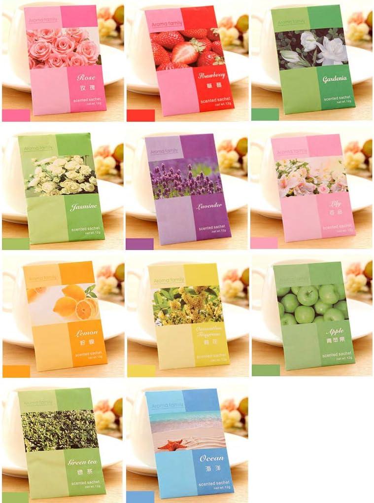 MEIYIN Mini Natural Perfume Air Paper Sachets Vanilla Freshener In a popularity Now free shipping