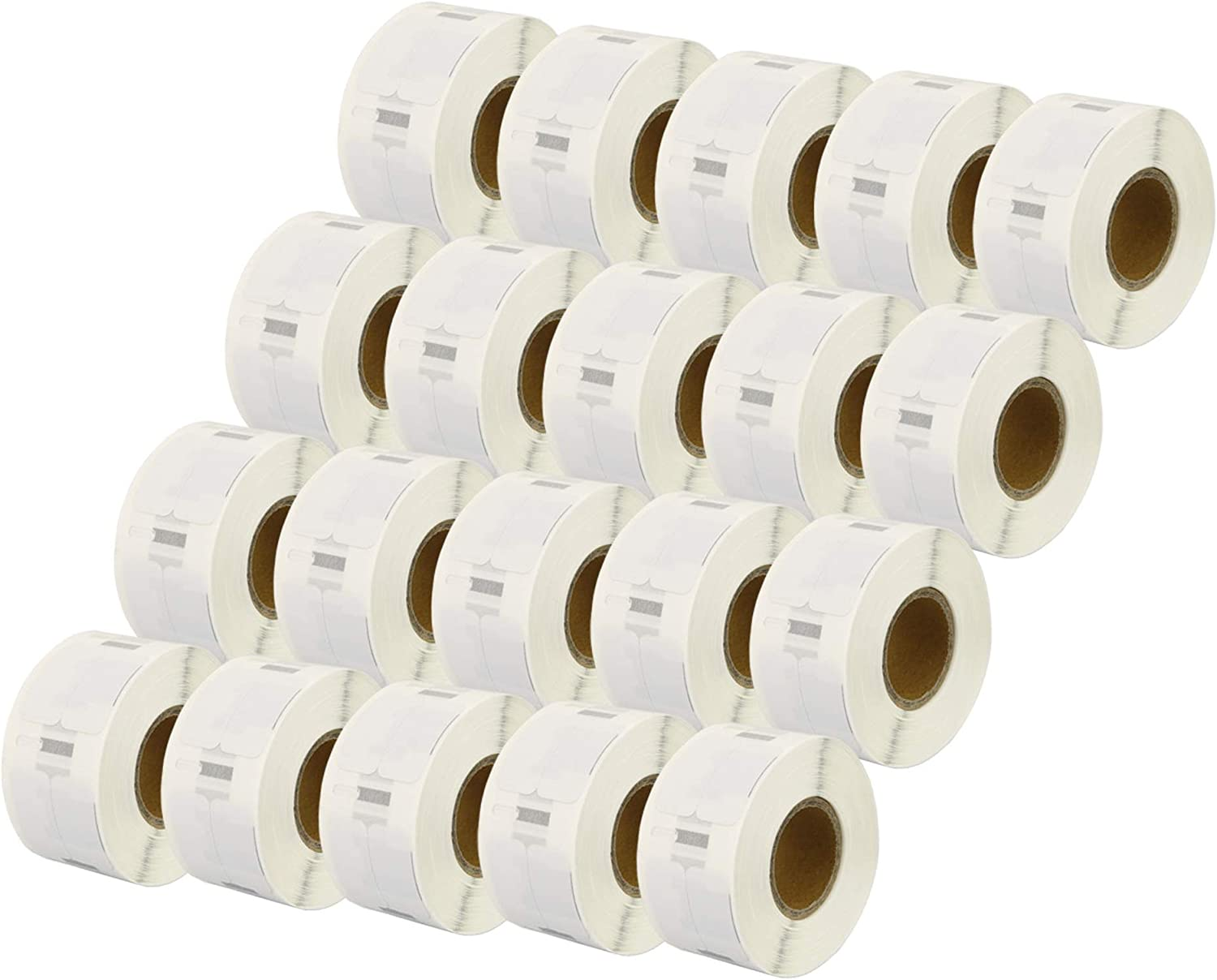 Printing Saver 20x 11353 12 x 24 mm Compatible Multipurpose Labels Rolls (1000 Labels per Roll) for Dymo LabelWriter 310 320 330 4XL 400 450 Turbo/Twin Turbo/Duo & Seiko SLP Label Printers