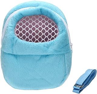 DETOP Pet Carrier Bag Hamster Portable Breathable Outgoing Bag Small Pets Like Hedgehog,Sugar Glider Squirrel etc
