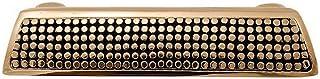 Vicenza Designs P1254 Tiziano Finger Pull, Antique Gold