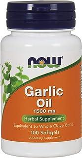 Now Foods Garlic Oil, 100 Sgels 1500 mg