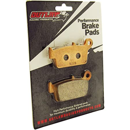 Outlaw Racing OR131 Rear Sintered Brake Pads Honda Xr600R 1993-2000 Xr650L 93-15