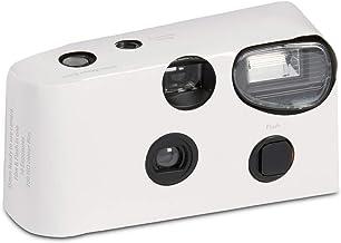 Blanco cámara desechable con flash