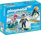 PLAYMOBIL- Deportes de Invierno Figuras de Juguete, Multicolor, única (9286)