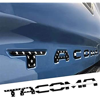 EAG 2016-2018 Toyota Tacoma Tailgate Insert Letters Chrome