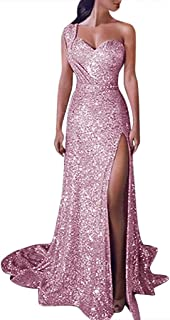 Women Prom Party Maxi Dress - Limsea Gold Solid Color Bridesmaid