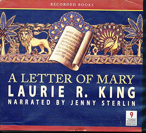 A Letter of Mary by Laurie R. King Unabridged CD Audiobook