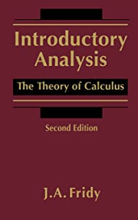 Introductory Analysis: The Theory of Calculus