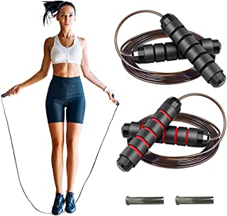 Generies FITTU 2 Packs Weighted Jump Rope Workout Jumping...