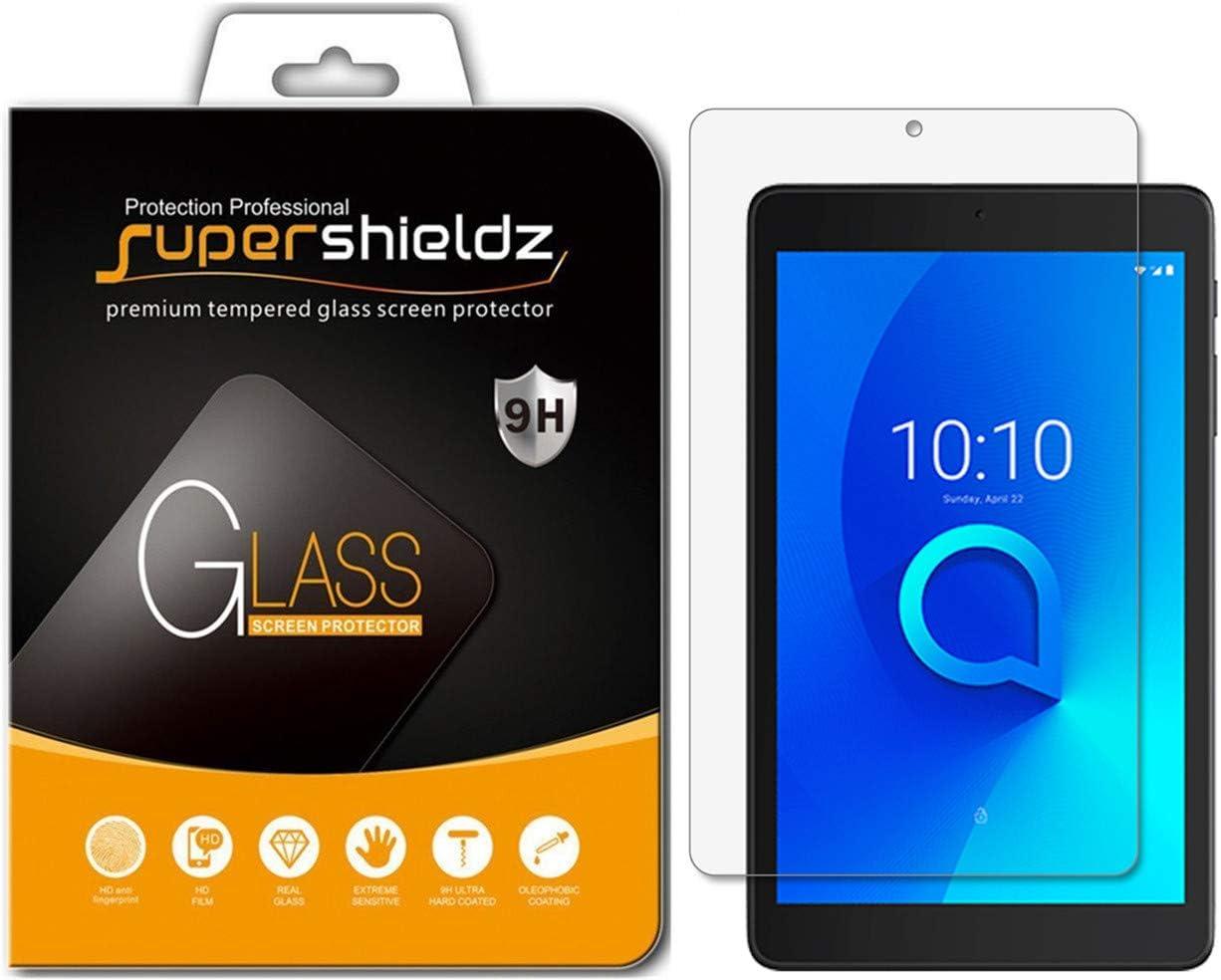 (2 Pack) Supershieldz Designed for Alcatel Joy Tab/Joy Tab 2 / Joy Tab Kids and Alcatel 3T (8 inch) Tempered Glass Screen Protector, Anti Scratch, Bubble Free