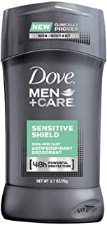Dove Men+Care Antiperspirant Deodorant, Sensitive Shield 2.7 oz (Pack of 6)