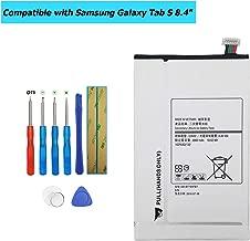 Upplus EB-BT705FBC EB-BT705FBU EB-BT705FBE Replacement Battery Compatible with Samsung Galaxy Tab S 8.4,SM-T700,SM-T705,SM-T705C,SM-T707,SM-T707A with Toolkit
