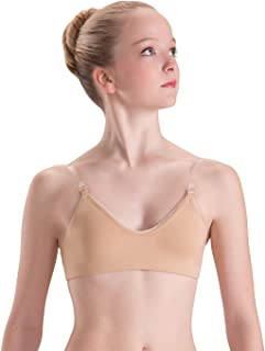 Underwear Convertible Clear Strap Bra