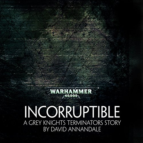Incorruptible audiobook cover art