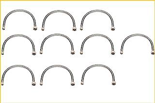 """Rubber hose dn8 m10x1-3//8/""""f L 40 cm Bath Sink"""