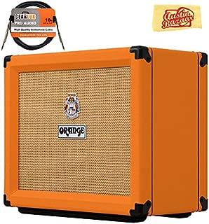 Orange Rocker 15 Combo Amplifier Bundle with Instrument Cable and Austin Bazaar Polishing Cloth