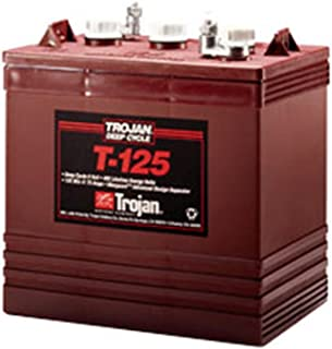 Trojan T-125 6V 240Ah Flooded Lead Acid GC2 Deep Cycle Battery FAST USA SHIP