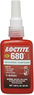 Loctite 1835201 Green 680 Retaining Compound, 50 mL Bottle