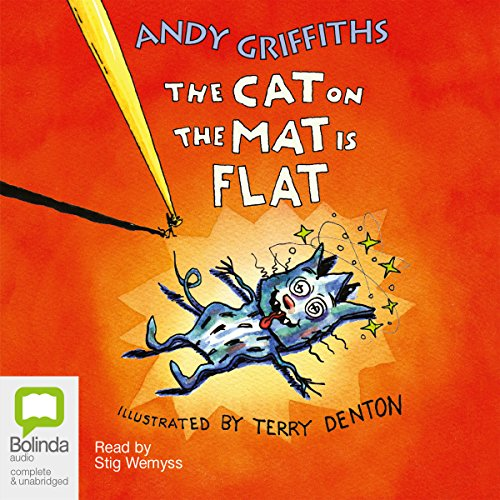 The Cat on the Mat is Flat  audiobook cover art