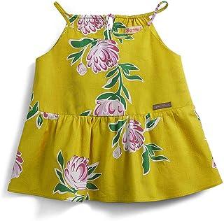 Blusa Primavera Green Amarela - Infantil Menina