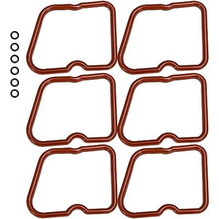 6PCS Valve Cover Gasket Seals Gaskets For Dodge Ram 5.9 Cummins 12V 5.9L 89-98.5