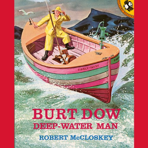 Burt Dow audiobook cover art