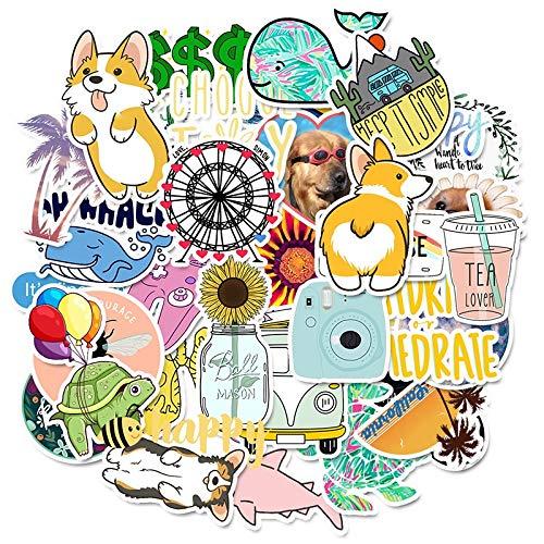 Stickers For Kinderen Cartoon Eenvoudige Leuke Toy Waterproof Sticker DIY Laptop Fietshelm Autooverdrukplaatjes