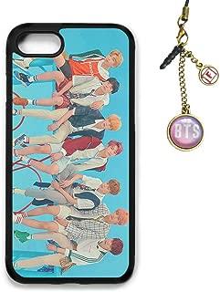 Fanstown Kpop BTS Bangtan Boys iPhone 7/8 case Love Yourself 結 Answer + Album Logo Pendant (H25)