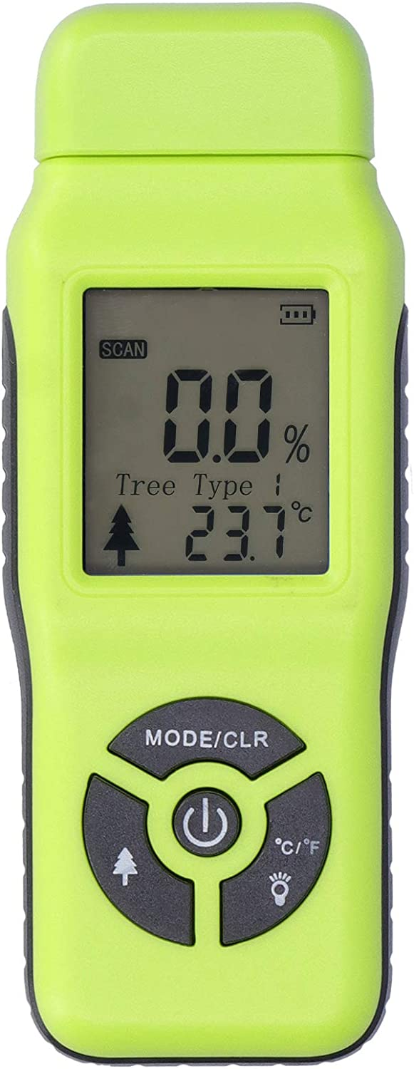 low-pricing TOPINCN Digital Moisture Tester Portable Wood Charlotte Mall Damp Hand-Held LCD
