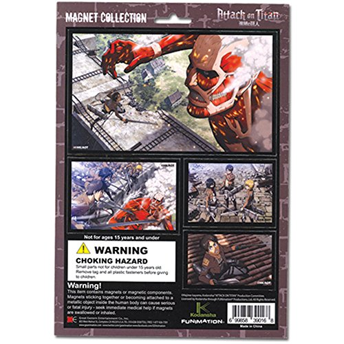 Magnet–Attack on Titan–New Collection Toys Anime Lizenzprodukt ge39016