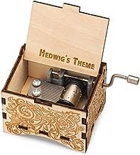 TheLaser'sEdge, Personalizable Music Box, Laser Engraved Nouveau (Standard)