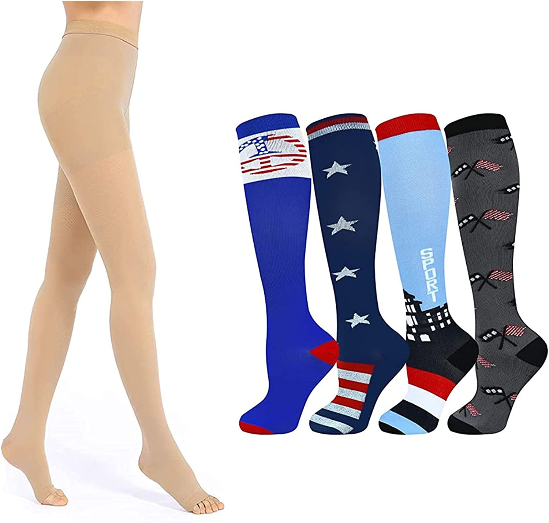 Medical Outlet SALE Compression Pantyhose for Men Compres Limited price 20-30mmHg Women