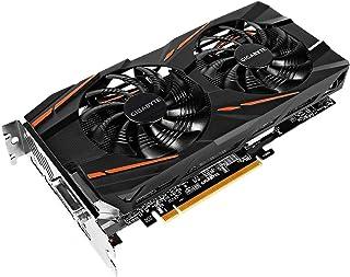 Gigabyte GV-RX580GAMING-8GD-MI - Tarjeta gráfica RX 580 Gaming, 8GB, Windforce 2X 90mm, AORUS Graphics Engine) , Negro