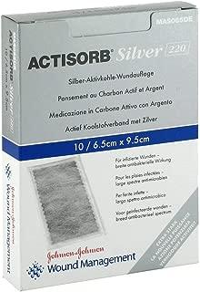 Actisorb Silv 220 9,5x6,5 cm, 10 St