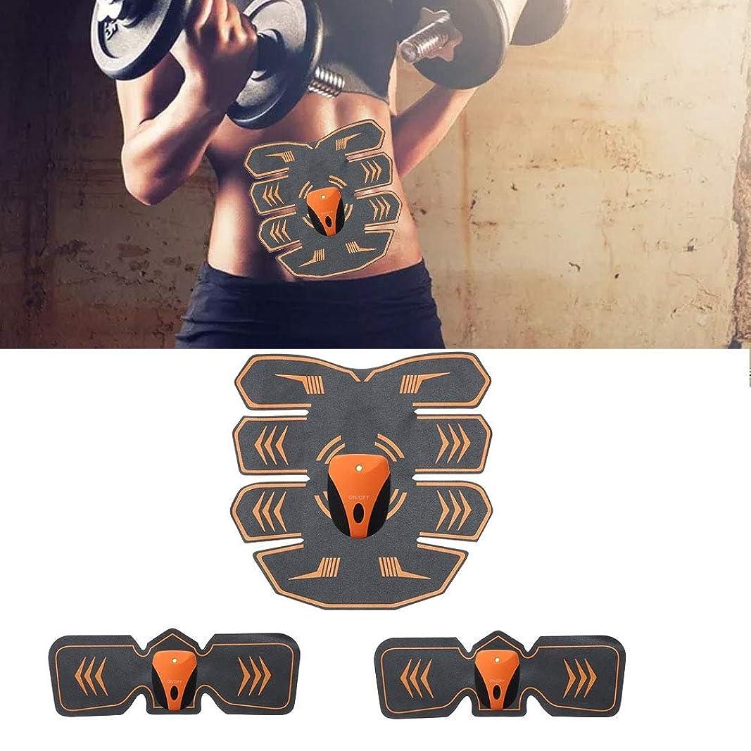 監査抽出適度に電気腹部筋肉刺激装置、ボディウエストトレーナー、フィットネス痩身ベルト男性と女性の減量マッサージ