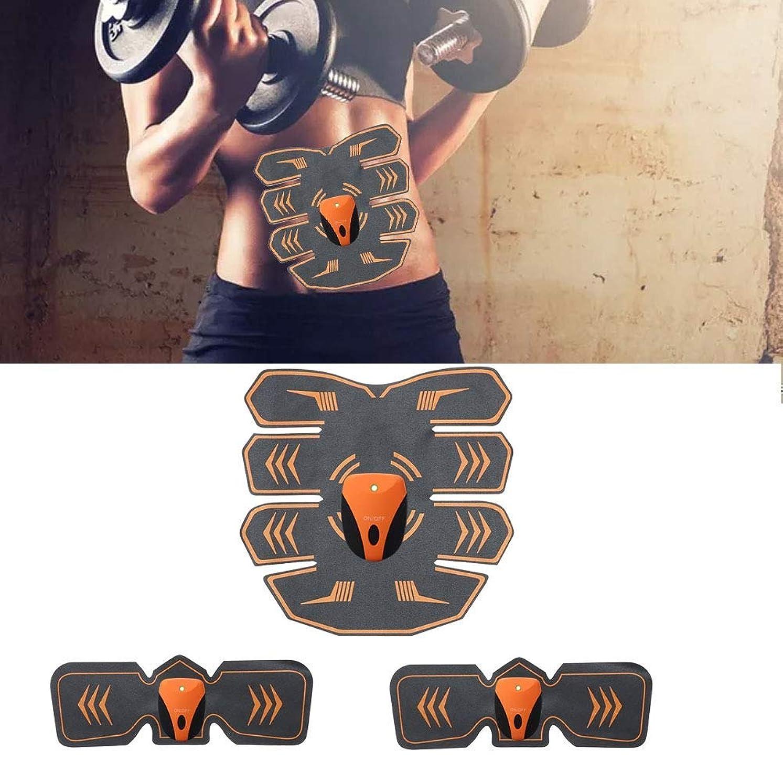 うんざり鳩ソート電気腹部筋肉刺激装置、ボディウエストトレーナー、フィットネス痩身ベルト男性と女性の減量マッサージ