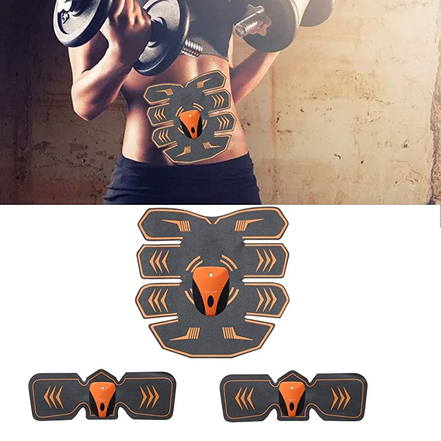 不適オセアニア叫び声電気腹部筋肉刺激装置、ボディウエストトレーナー、フィットネス痩身ベルト男性と女性の減量マッサージ