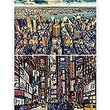 Great Art 2er Set XXL Poster New York Wandbild Dekoration