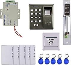 D DOLITY 125KHZ RFID Card Fingerprint Door Access Control System Kit Home Security