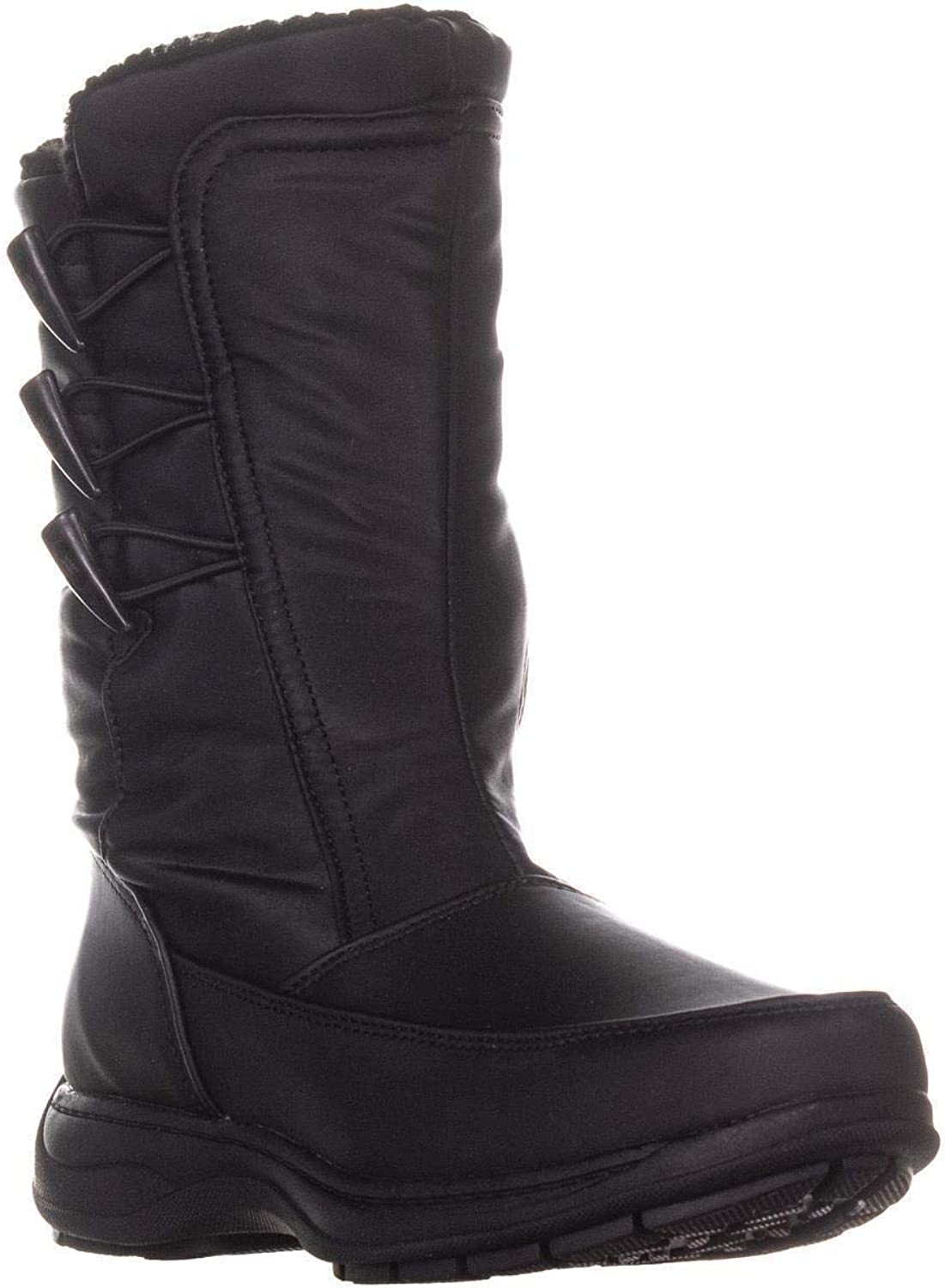 Sporto Dana Mid Calf Winter Boots, Black