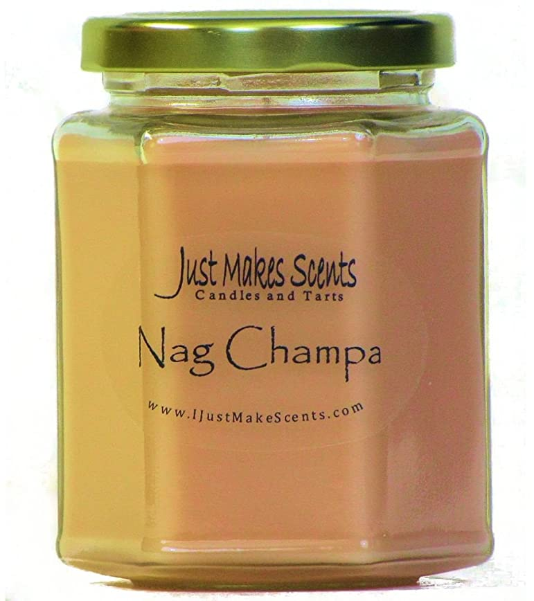 シネウィ退化する欠員Nag Champa香りつきBlended Soy Candle by Just Makes Scents