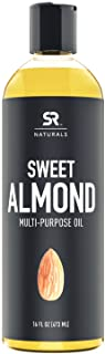 Sports Research Sweet Almond Multi-Purpose Oil, 16 fl oz (473 ml)
